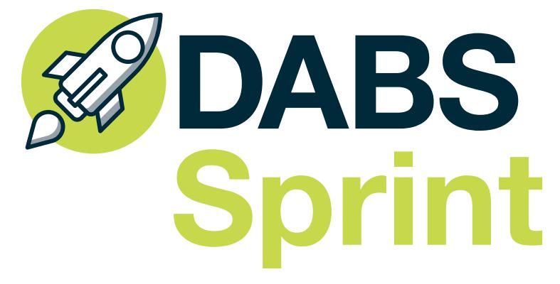DABS Sprint logo